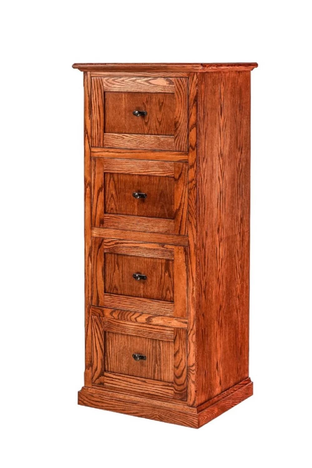 Loon Peak Hutton 4 Drawer Vertical Filing Cabinet Reviews