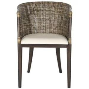 Outdoor Wicker Barrel Chair   Wayfair Beningo Barrel Chair