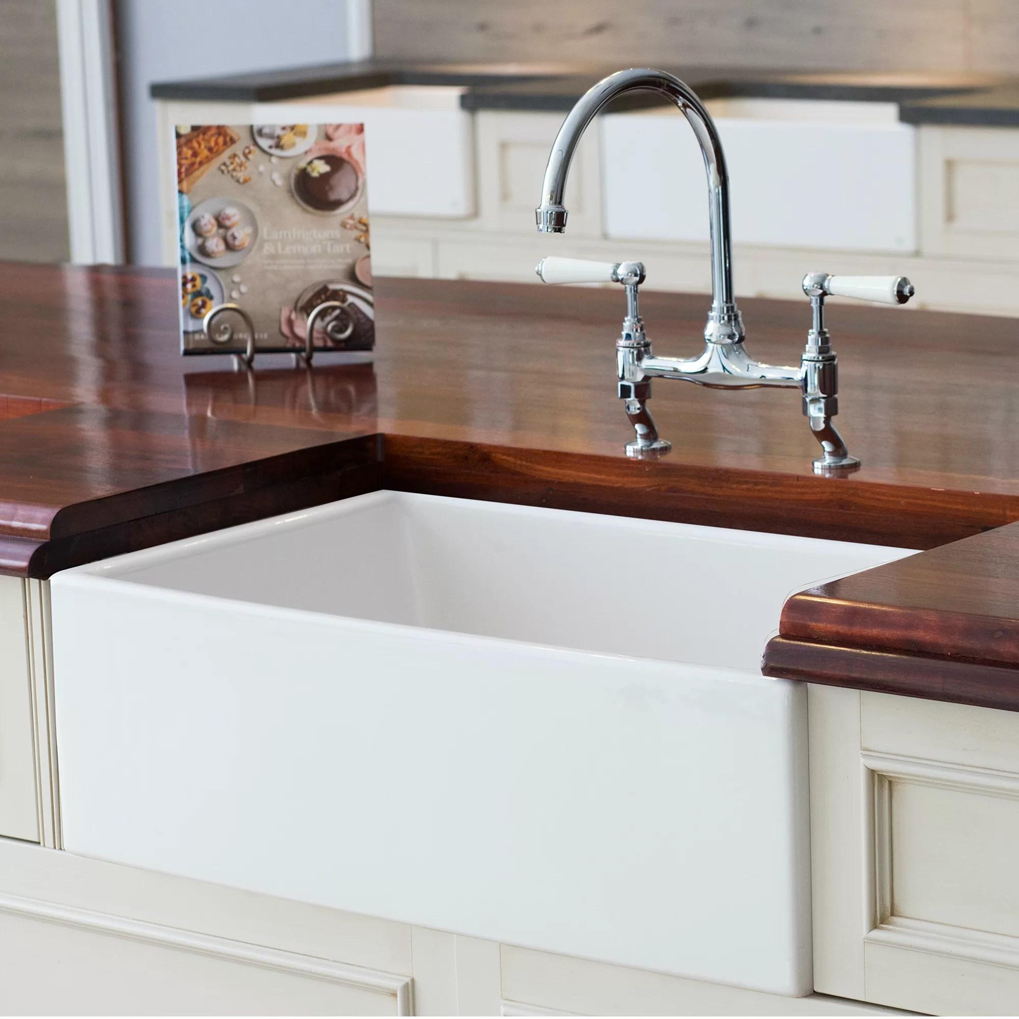 mayfair 30 l x 20 w farmhouse kitchen sink