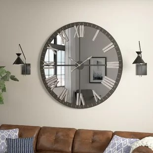 Modern Wall Clocks You Ll Love In 2020 Wayfair