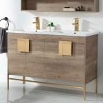 Allmodern Lee 48 Double Bathroom Vanity Set Reviews Wayfair