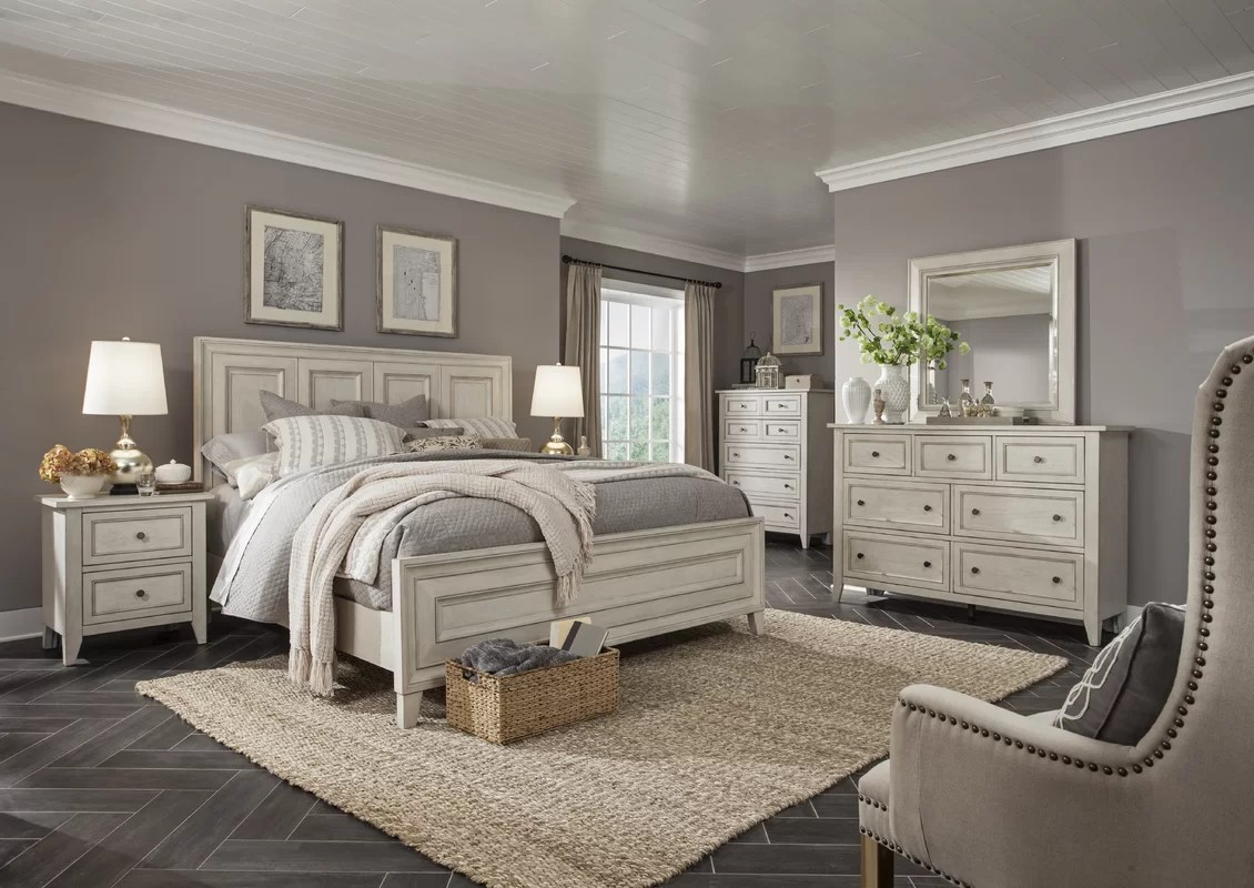 Rosecliff Heights Stoughton Panel Customizable Bedroom Set