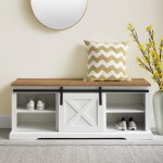 Entryway White Benches Free Shipping Over 35 Wayfair