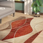Modern Contemporary Orange Area Rugs You Ll Love In 2020 Wayfair