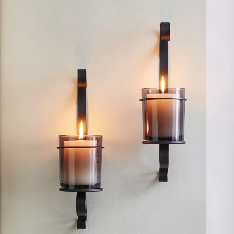 Iron Wall Sconce (Set of 2)
