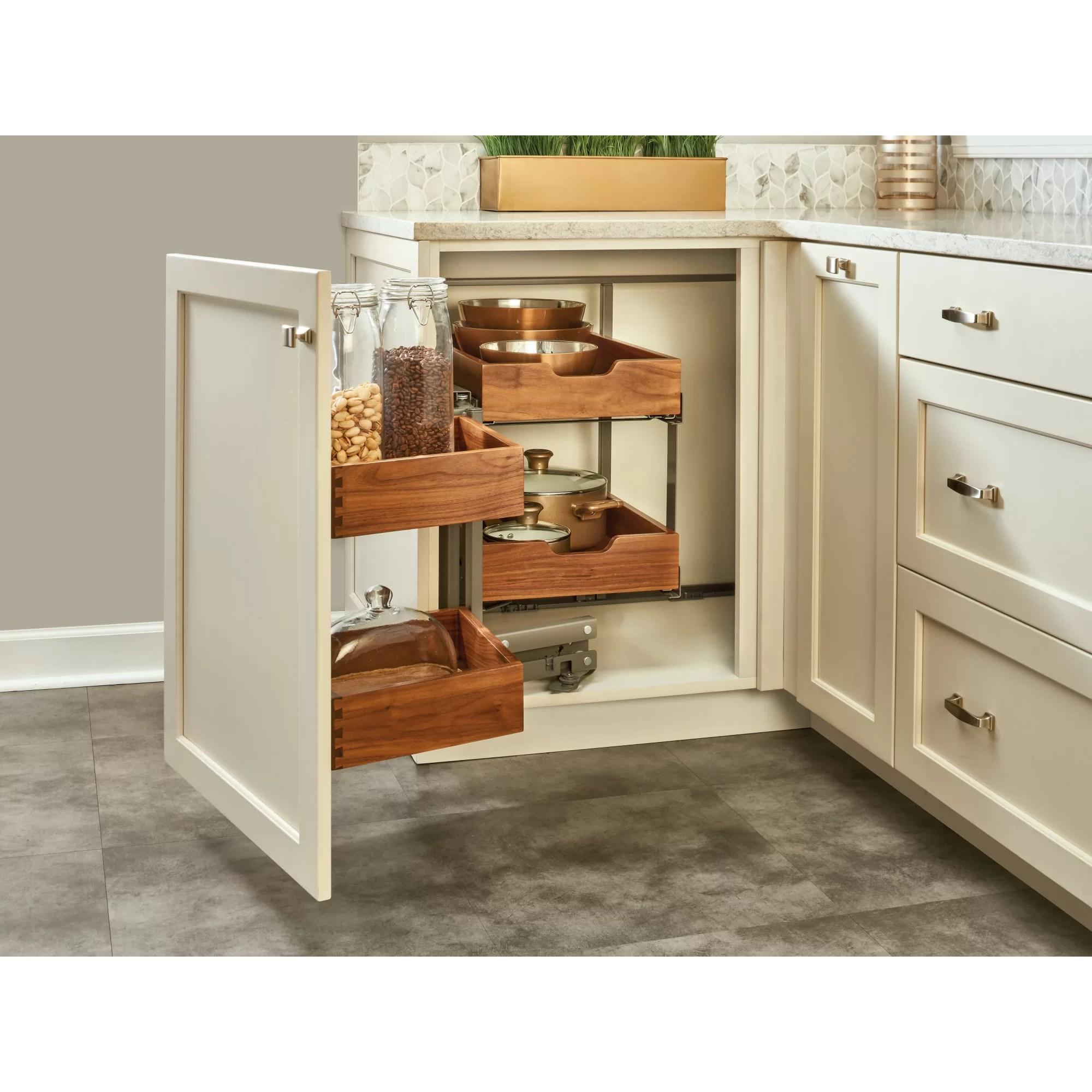 Rev A Shelf Blind Corner Cabinet Organizer Pull Out Pantry