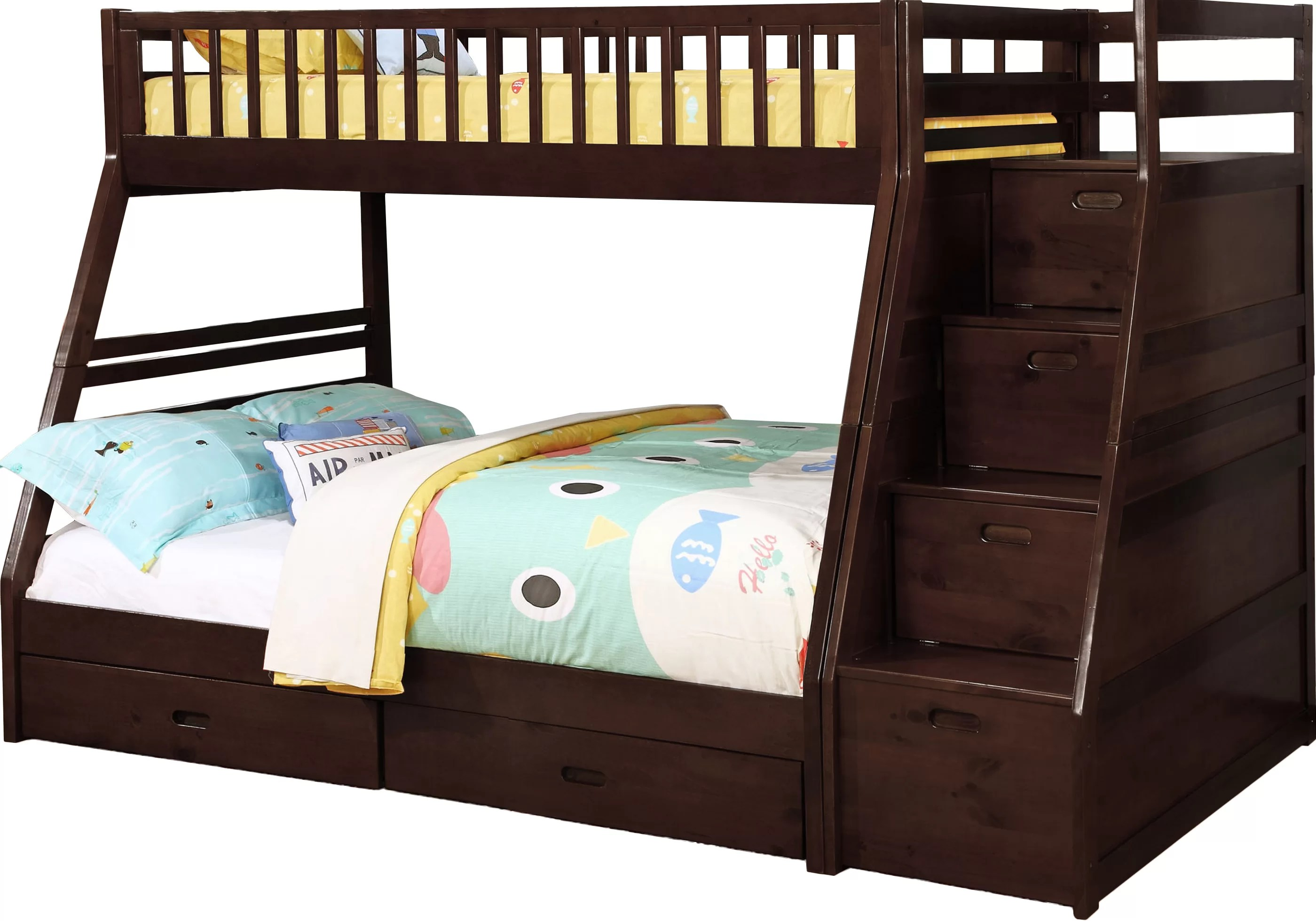 Pierre Twin Over Full Bunk Bed With Drawers Reviews