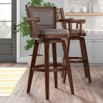 Darby Home Co Cammy Swivel 36 Extra Tall Stool Reviews Wayfair