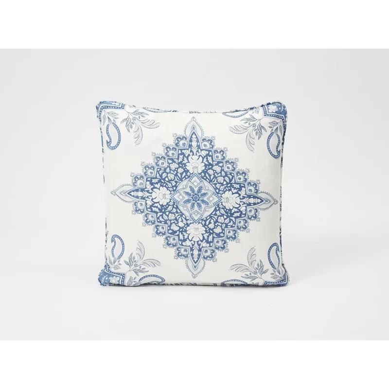 montecito medallion linen throw pillow