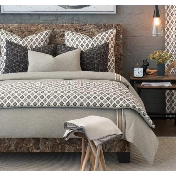 bale beige geometric duvet cover set collection
