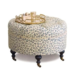 emory tufted cocktail ottoman