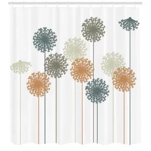 shower curtain set hooks