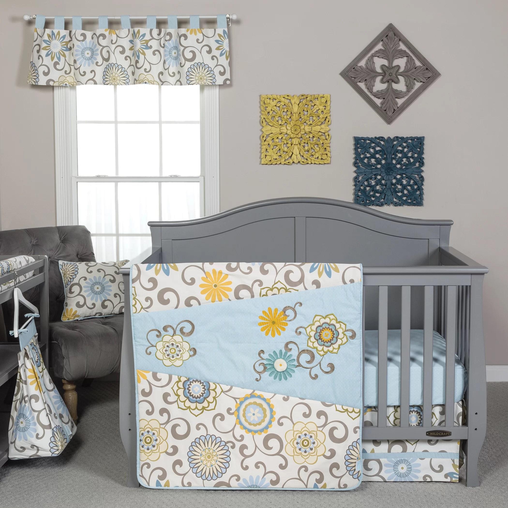 isabelle max mattea 4 piece crib bedding set reviews wayfair