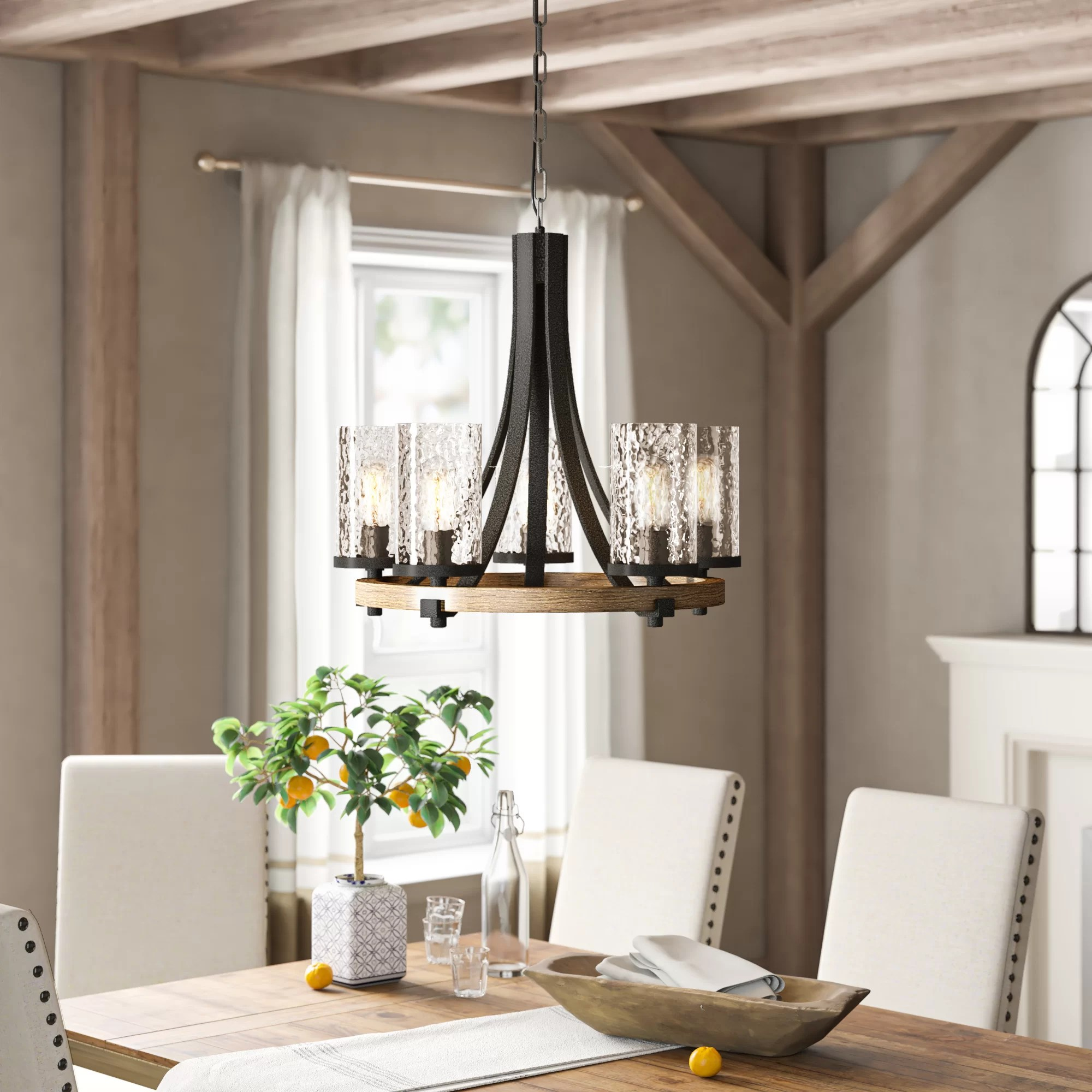 rustic chandeliers free shipping over