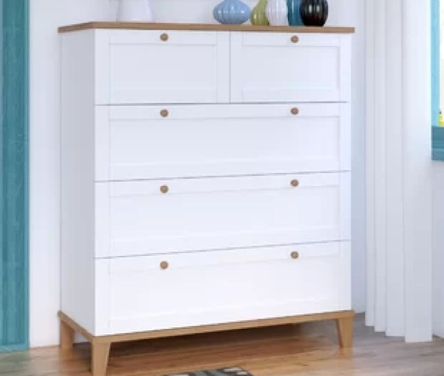 Alissa 5 Drawer Chest Of Drawers