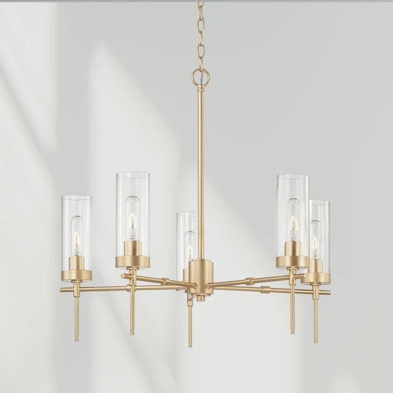 briana 5 light unique classic chandelier
