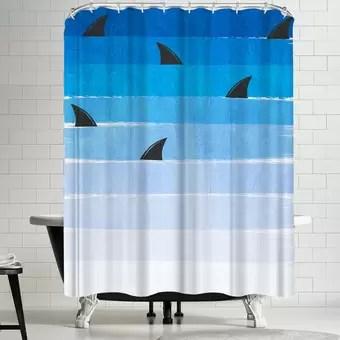 minecraft isometric shower curtain