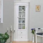 Rosdorf Park Amaretta Solid Wood Corner Display Cabinet Reviews Wayfair Co Uk