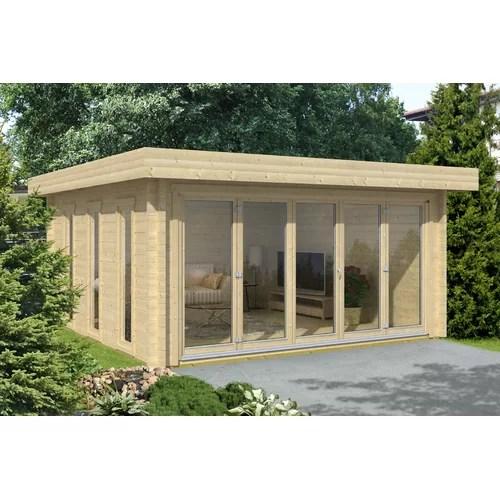 546 cm x 546 cm Gartenhaus Almelo Carlsson