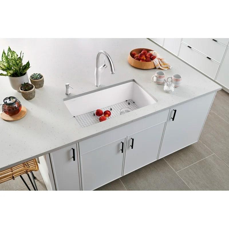 diamond silgranit 34 l x 19 w undermount kitchen sink