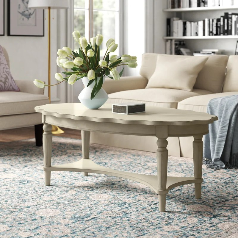 Quitman Solid Wood Coffee Table with Storage