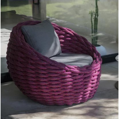 wicker rattan outdoor lounge chairs