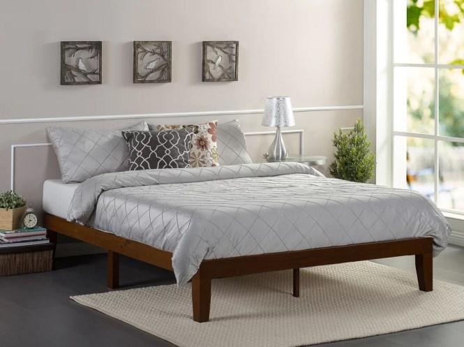 Hullinger Solid Wood Platform Bed