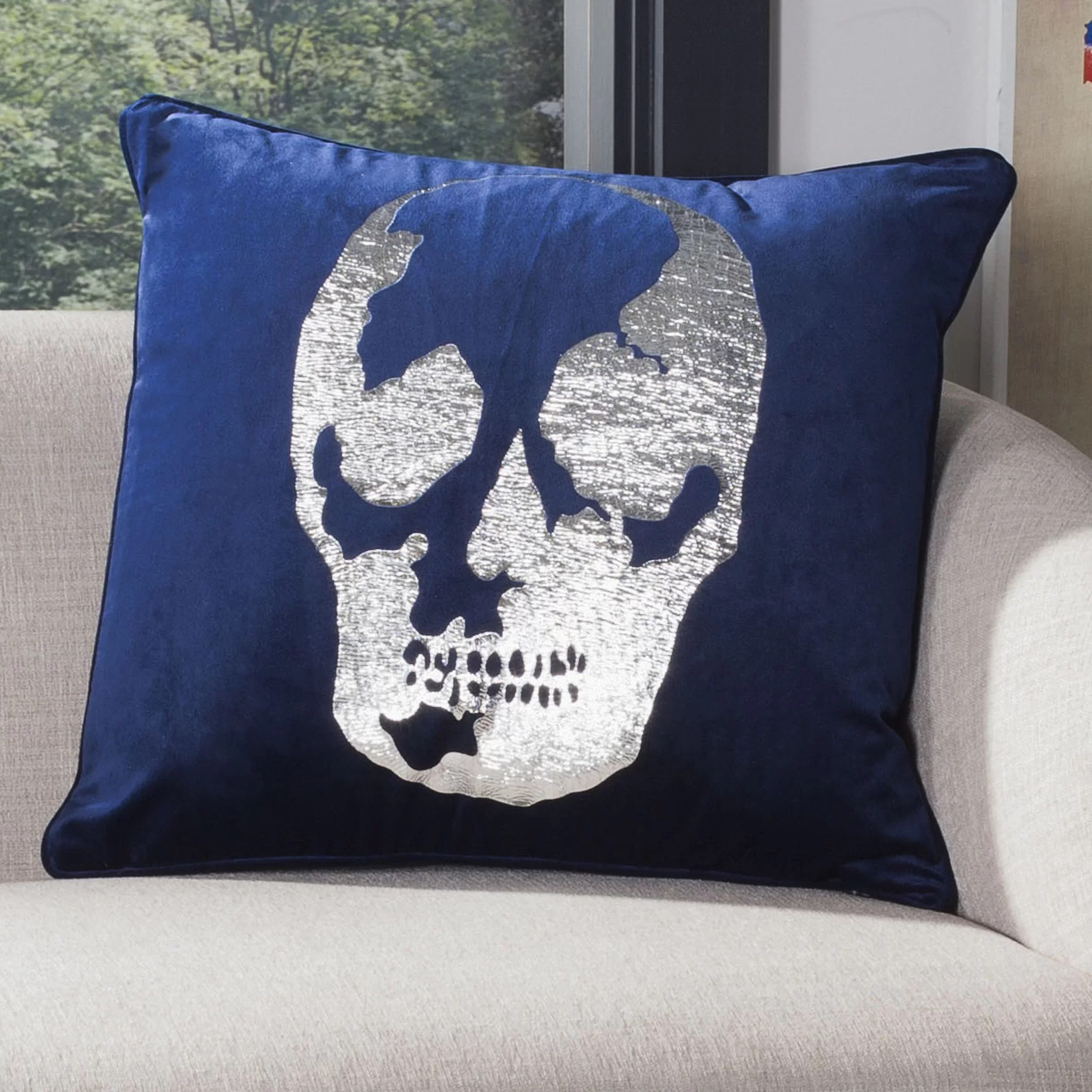 https www wayfair com decor pillows pdp wrought studio kathie skull throw pillow w001043826 html