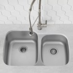 Premier 32 L X 21 W Double Basin Undermount Kitchen Sink With Basket Strainer And Drain Assembly Reviews Allmodern