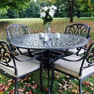 kilmer metal dining table