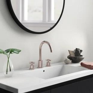 modern widespread bathroom sink faucets