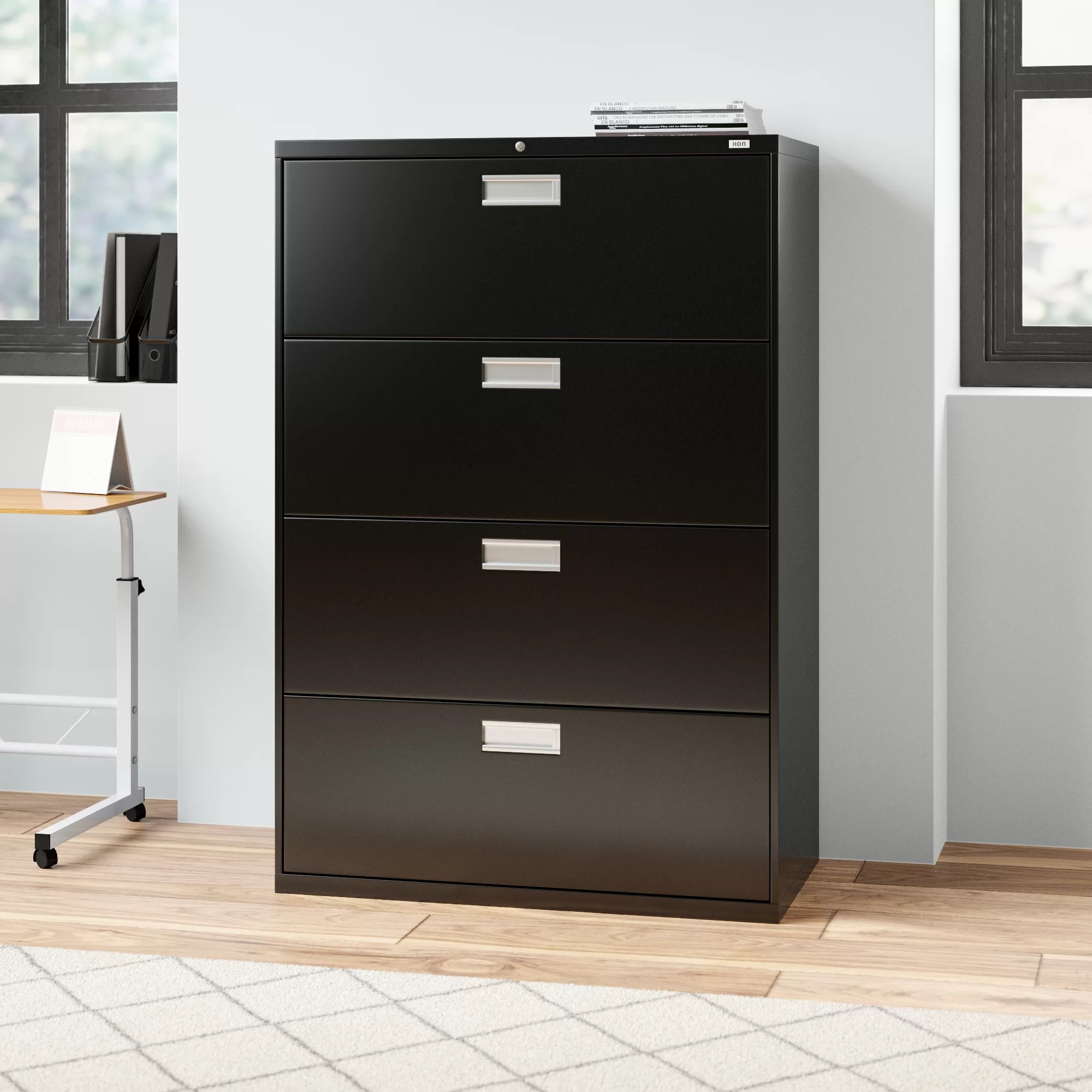 Hon Brigade 600 Series 4 Drawer Lateral Filing Cabinet Reviews Wayfair