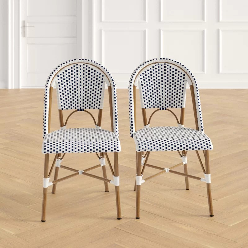 Patio Dining Side Chair (Set of 2)