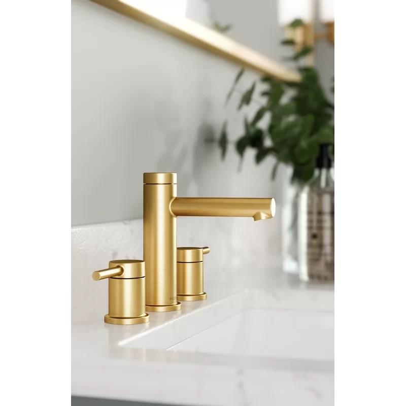 align widespread bathroom faucet