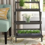 Charlton Home Fenimore Rectangular Multi Tiered Plant Stand Reviews Wayfair