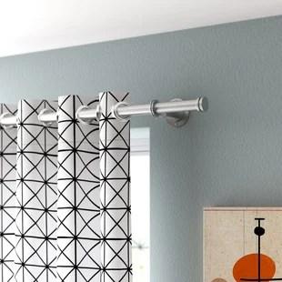 12 ft rod curtain hardware