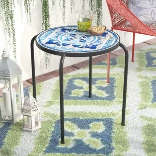 hayley stone concrete side table