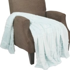 Guillaume Oversized Double Sided Faux Fur Throw Blanket