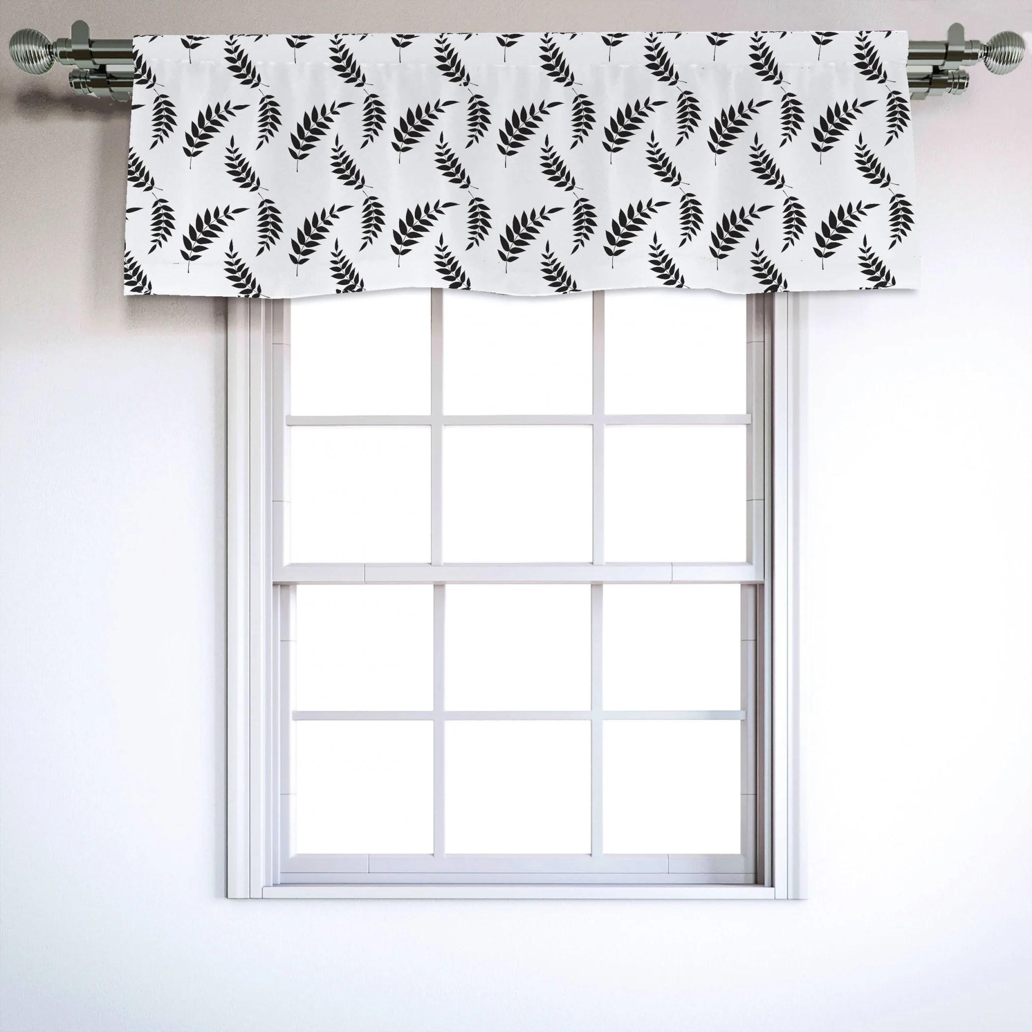Leaves 54 Window Valance