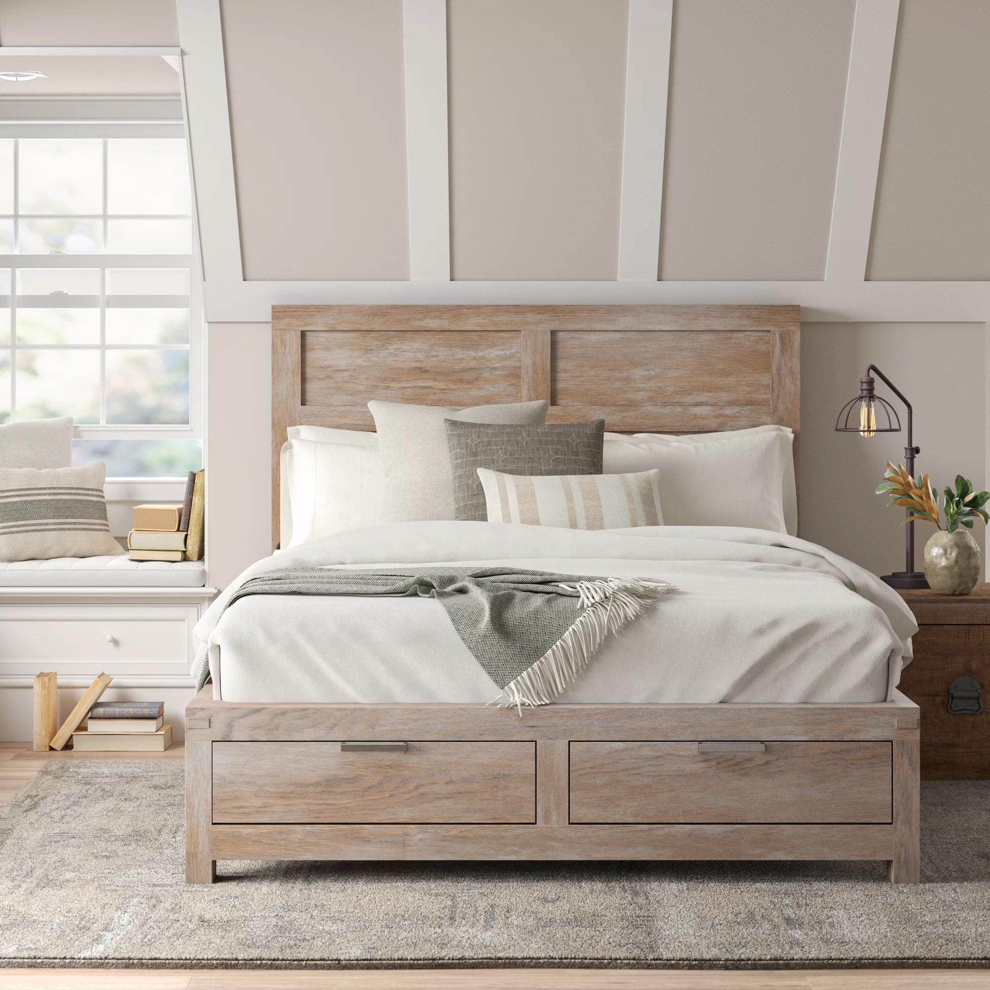 Sandford Storage Platform Bed Reviews Birch Lane