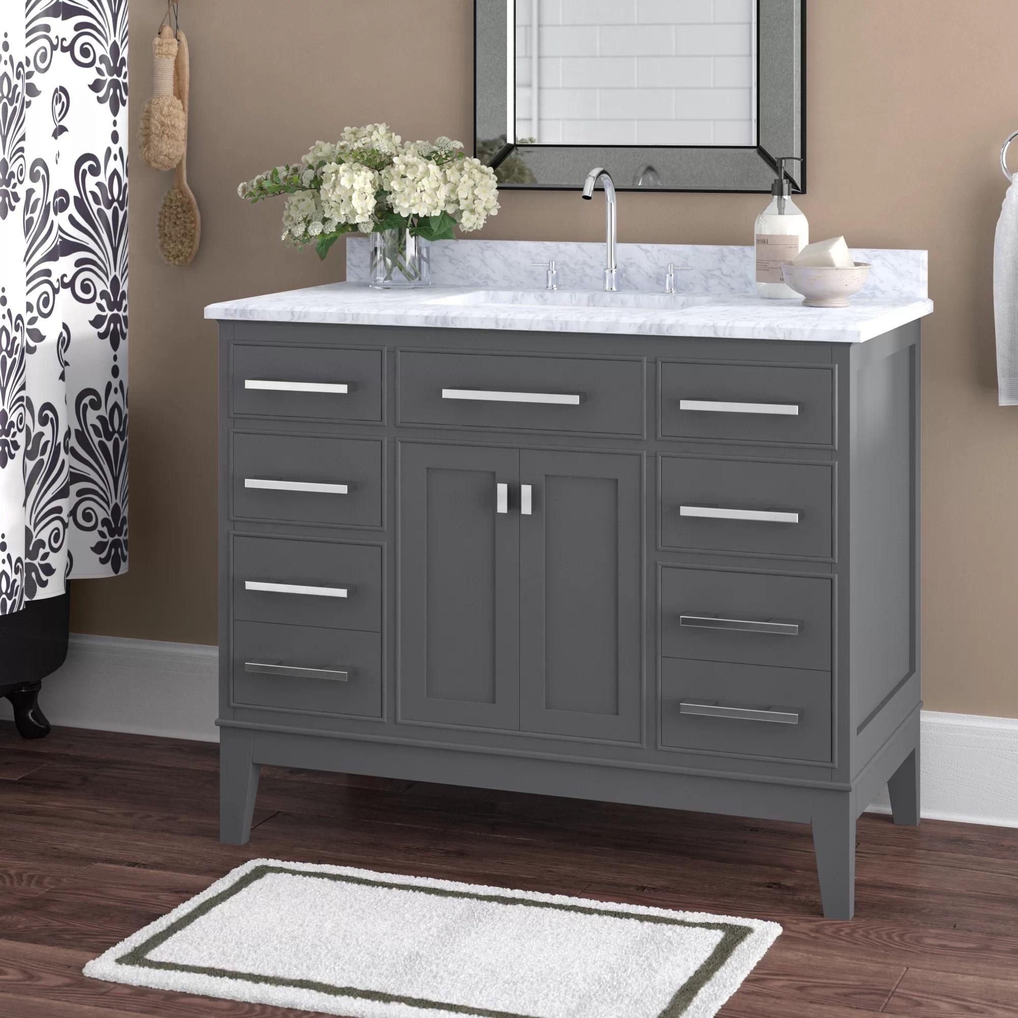 ellsberg 42 single bathroom vanity set