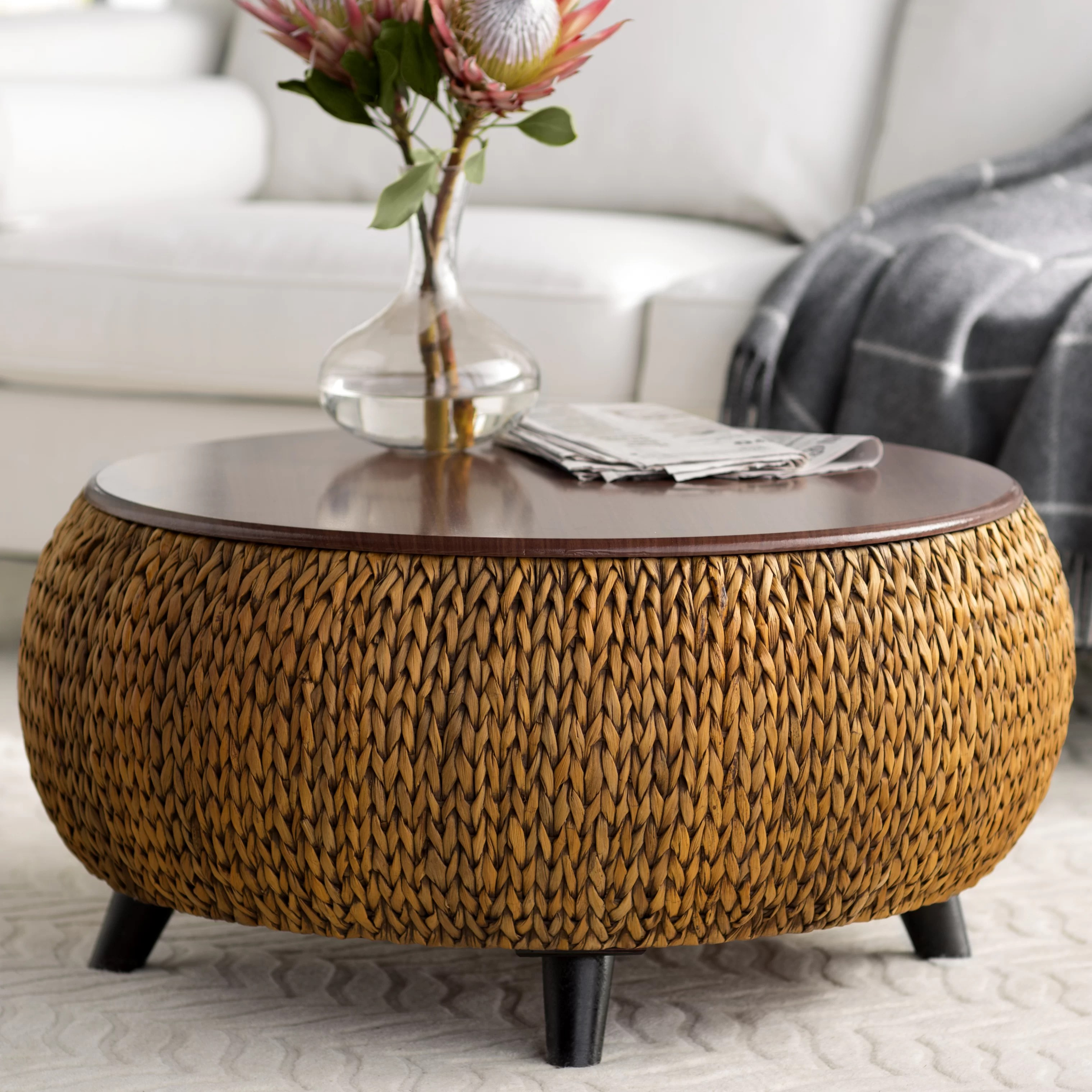 lift top round coffee tables you ll
