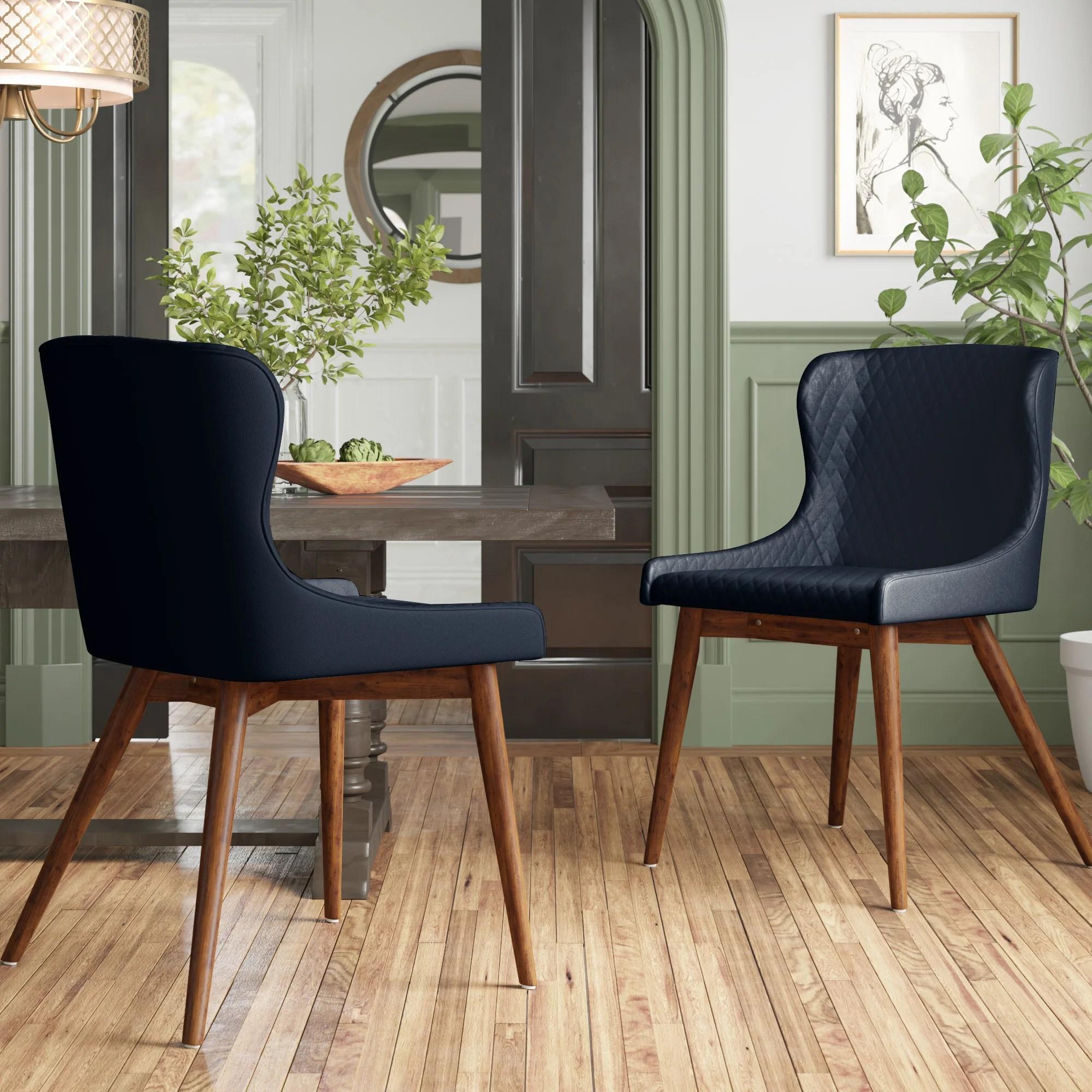 jamal line tufted upholstered side chair