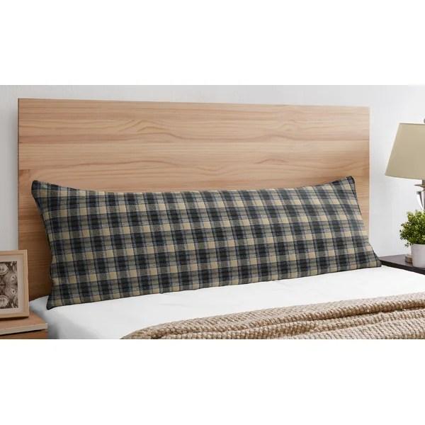plaid flannel pillowcases