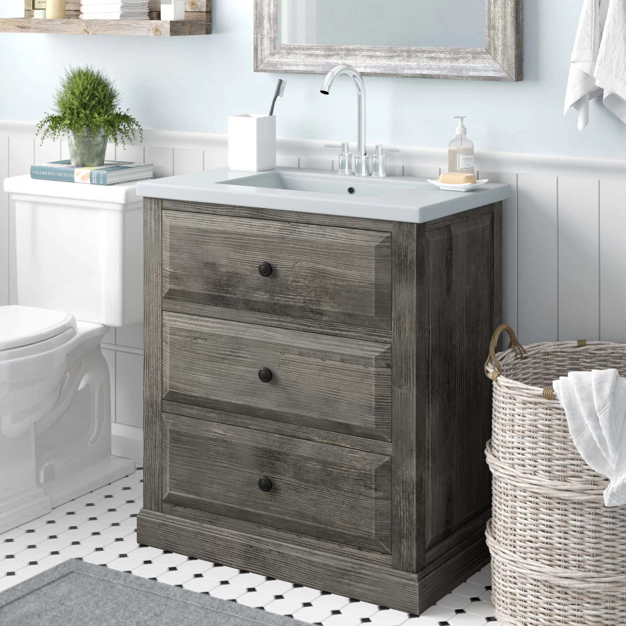 aalisha 30 single sink bathroom vanity set