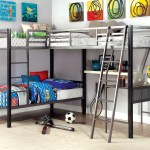 Viv Rae Earline Contemporary Twin Over Twin L Shaped Bunk Loft Bed With Storage And Display Shelf Reviews Wayfair