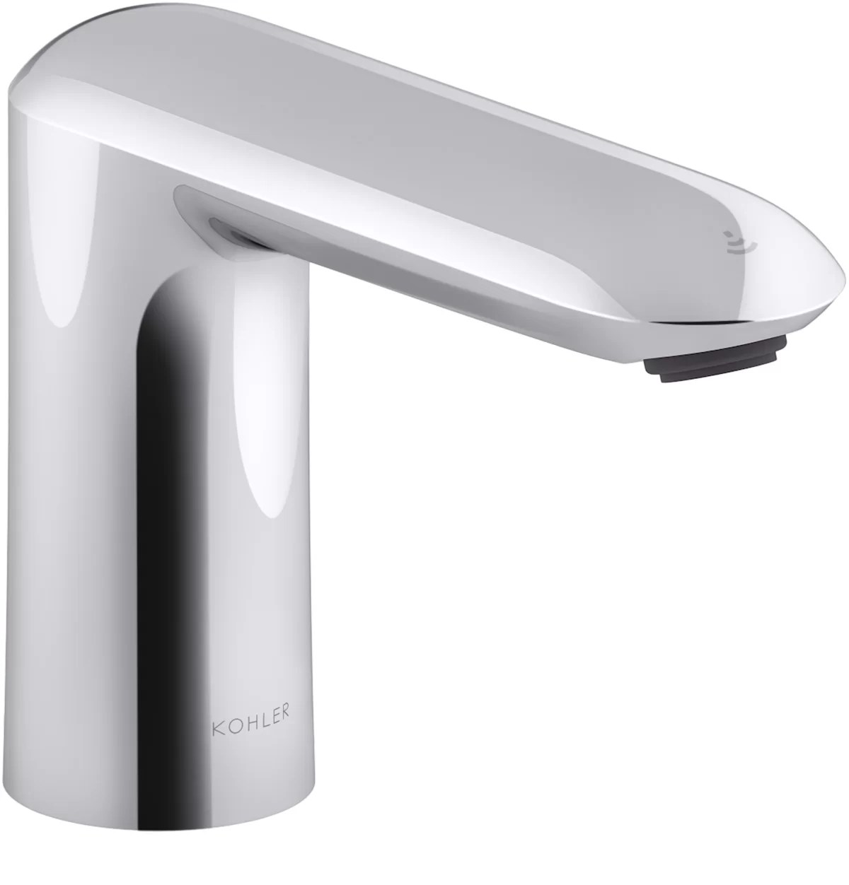 kumin touchless bathroom sink faucet with kinesis sensor technology dc powered