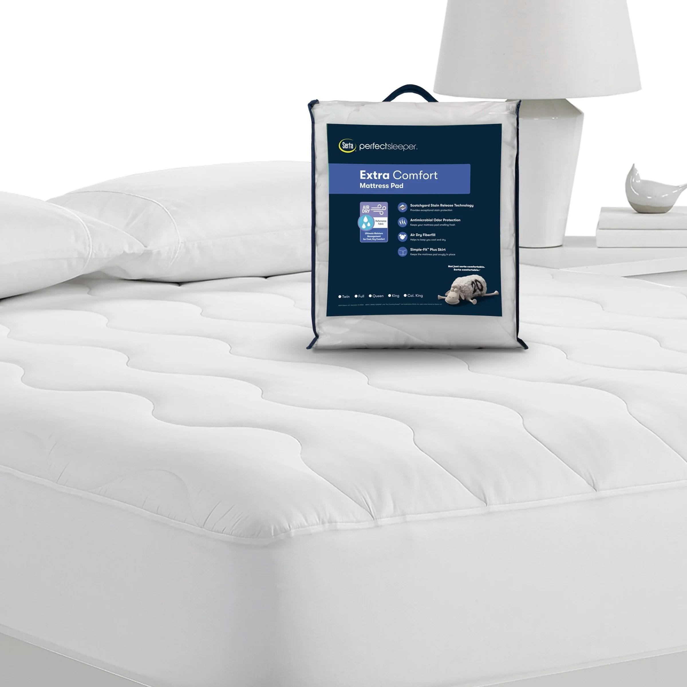 air dry extra comfort mattress pad