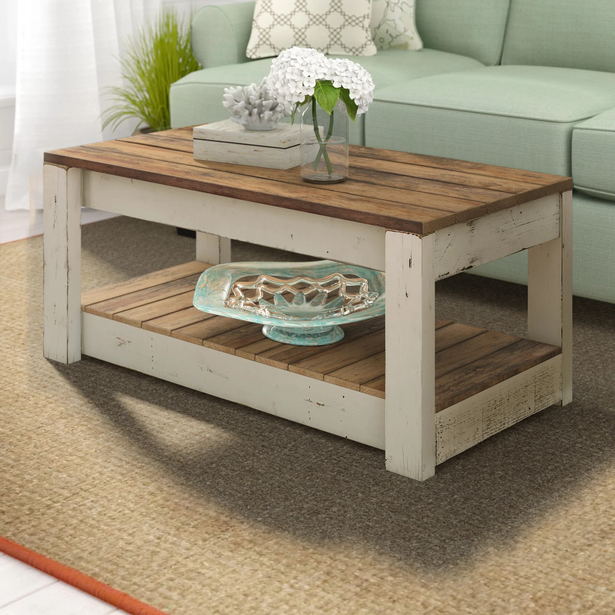 solid wood coffee tables free