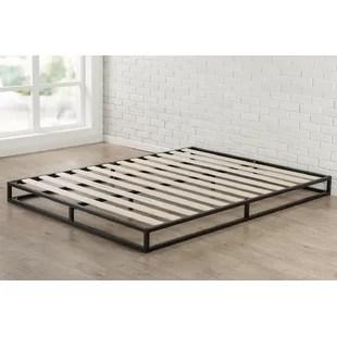 cadre de lit a profil bas platforma